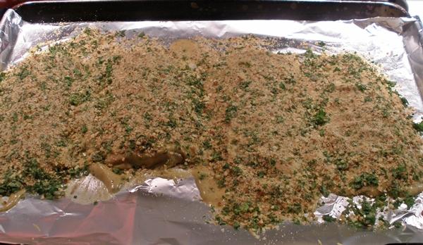 Almond Dijon Salmon recipe