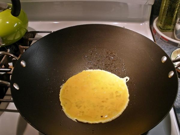 Pork & Egg Lo Mein recipe