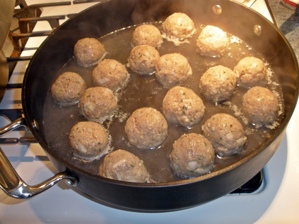 Italian Steamed Meatballs recipe