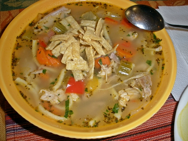 Simple Roasted Turkey Soup - simple-food-solutions.com
